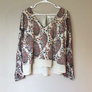 A&F Flowing Blouse